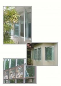 บ้านที่เคยติดอุปกรณ์ K-TON เปิดหน้าต่างโดยไม่ต้องเปิดมุ้งลวด