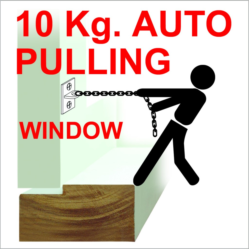 10kg. auto Pulling รับน้ำหนักได้ 10 กิโล